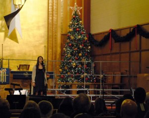 Holiday choir concert slideshow