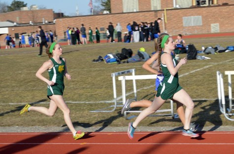 Girls track against Ike