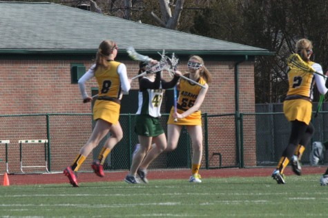 JV Girls Lacrosse against Adams