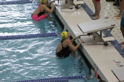 Freshman makes waves as a qualifier for states