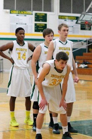 Defeat dampens varsity boys basketball team's senior night