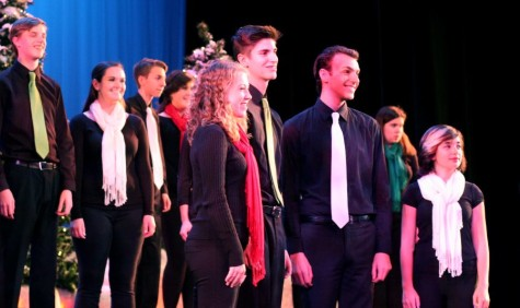 Holiday tea concert slideshow