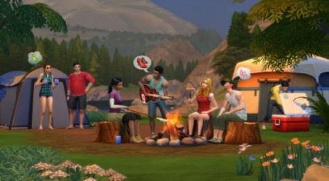 Sims 4: The Outdoor Retreat
