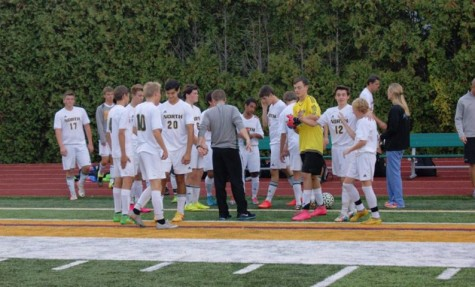 Boys varsity soccer ends district run