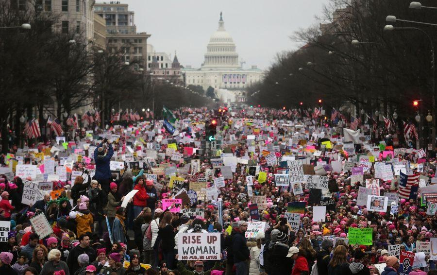 People+met+in+Washington+D.C.+for+the+March+on+Washington+on+Saturday%2C+Jan.+21