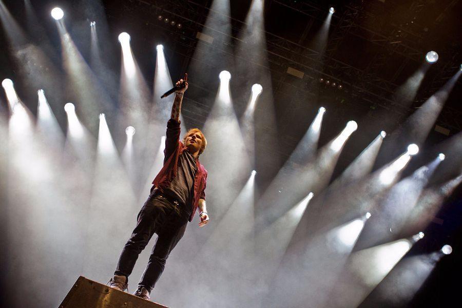 Sheeran bounces back