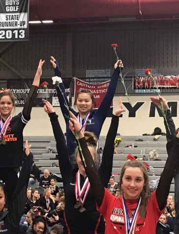 Gymnastics continues winning streak at Frasier