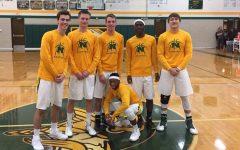 Defeat dampens varsity boys basketball team's senior night