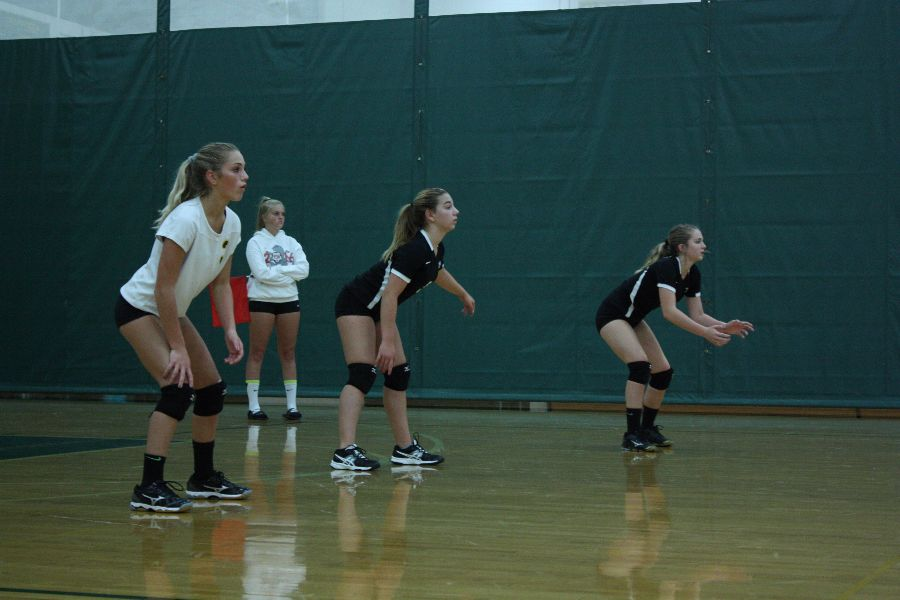 Freshmen Volleyball against Romeo high school