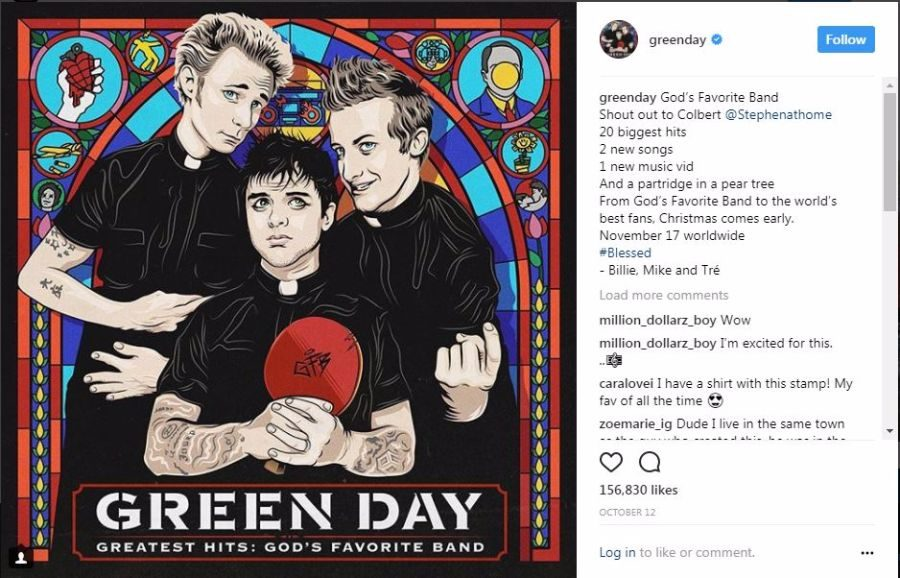 greatest hits gods favorite band by green day review - Green Day Christmas