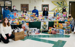 "Lauren Huizdos, a public relations officer of the student association was a part of Jake's toy drive. ""North students and the community along with the Student Association did such an amazing job,"" Huizdos said."