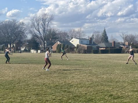 """Lacrosse player Clare Ramsdell said that after a year long hiatus from the sport she is excited to begin playing again. """"I'm excited to finally get back on the field for lacrosse since we've had so much time off,"""" Ramsdell said. """"It'll definitely be difficult to get back in the swing of things, but I am just happy we are able to play."""""""