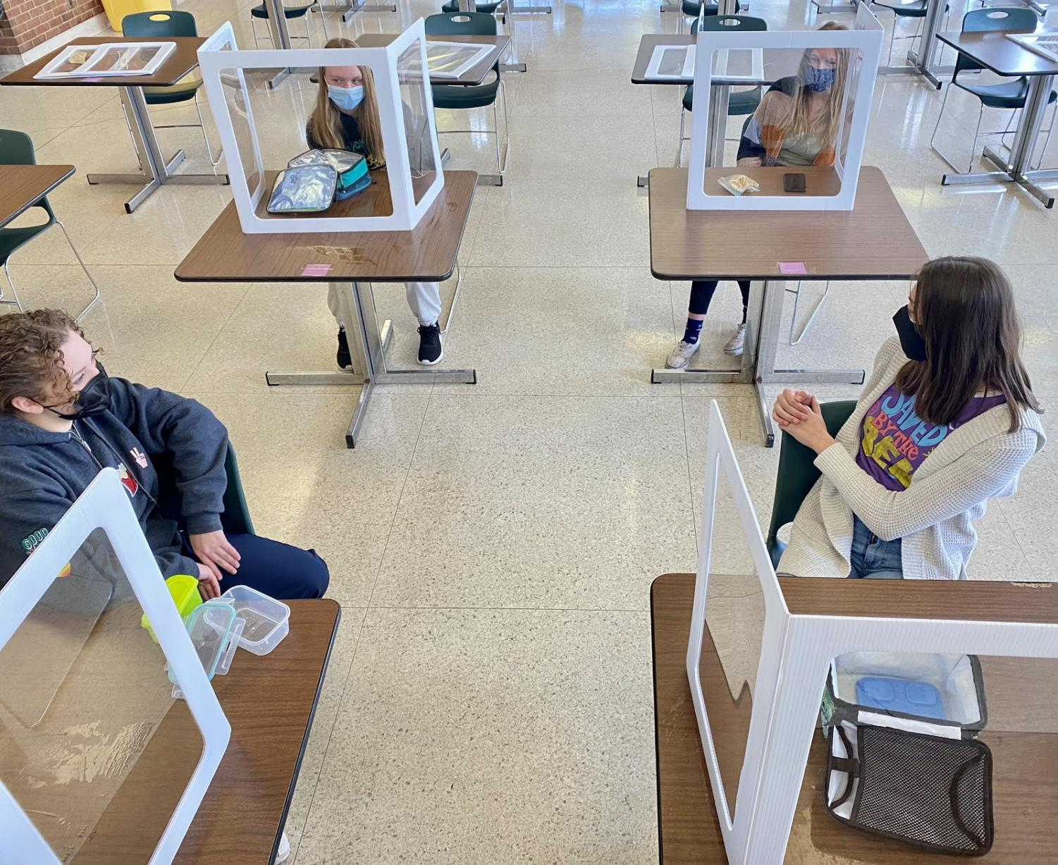 """Social studies teacher Bridget Cooley believes students may struggle with the changes throughout their day. """"I worry most about students that don't feel comfortable coming back,"""" Cooley said."""