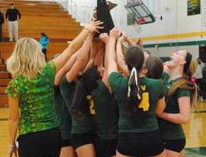 Varsity volleyball slideshow