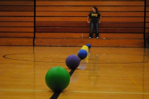 Dodgeball tournament slideshow