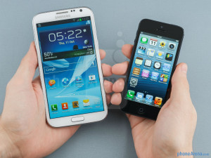 iPhone 5s vs. Galaxy Note 3