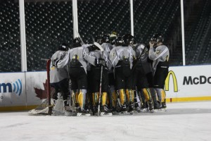Boys hockey tournament in Marquette