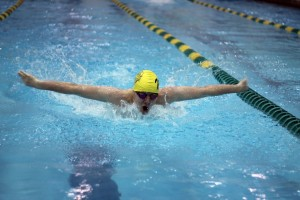 Boys swimming and diving slideshow