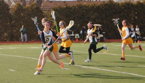 JV Girls Lacrosse vs. Adams