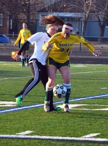 Girls Varsity Soccer 4-2-14