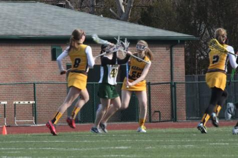 JV Girls Lacrosse against Adams
