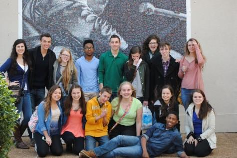 Choir goes to Nashville & Memphis, Tennessee