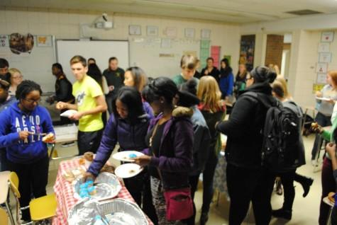 French club celebrates the language with a party