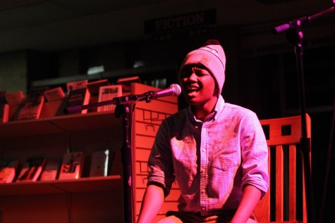 Students perform in relaxed environment at Acoustic Latte Lounge