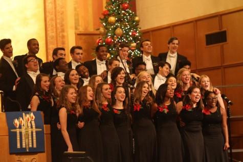 Holiday choir concert slideshow