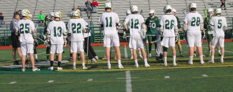 Starting their season off on the right foot, the boys lacrosse team pulled through with a win