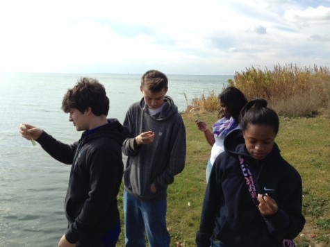 Environmental students share water quality findings with radio station