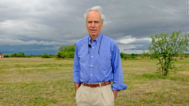 Doug Tompkins, the co-founder of North Face and Esprit clothing, as seen in the days before his death. Photo provided by www.cnn.com
