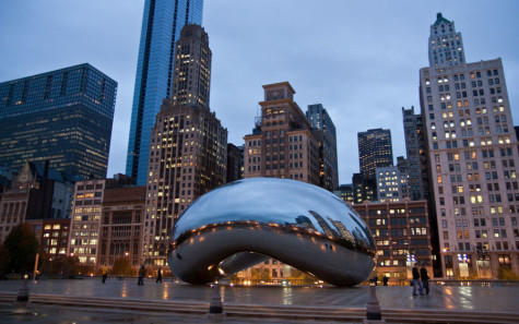Students head to the Windy City