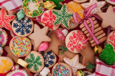 Holiday hodgepodge of cookies