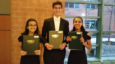 Honors choir finalists advance to all-state auditions