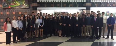 DECA members qualify for state competition