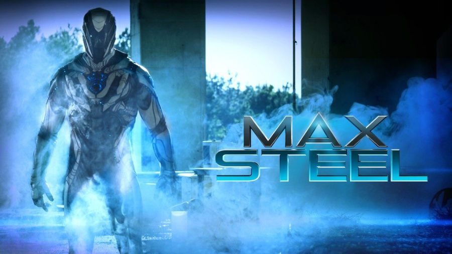 The banner for Max Steel, which hits theaters Friday.