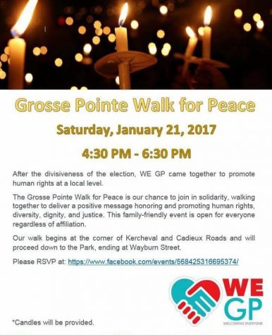 Walk to promote unity, solidarity in Grosse Pointe