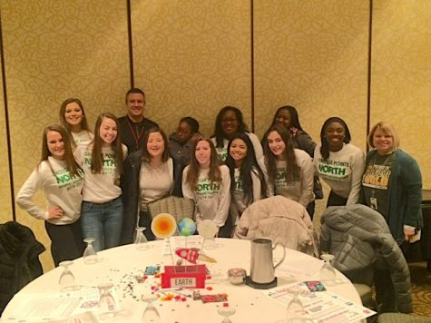 Student Council members present at regional conference
