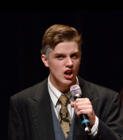 "Senior Will Fishwick performs in ""The Secret Garden."" ""I haven't thought too much ahead on [my career] but I would just join an opera company or a touring theatre company somewhere,"" Fishwick said."