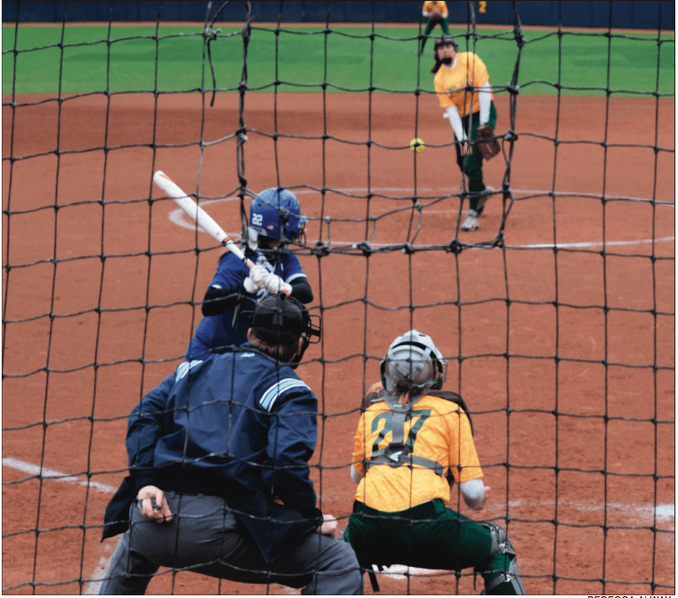 BATTER UP | North plays against Lakeview last season at the University of Michigan field.
