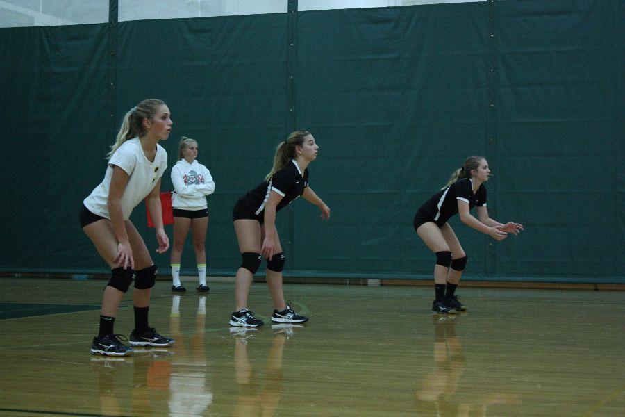 Freshmen Volleyball against Romeo high school